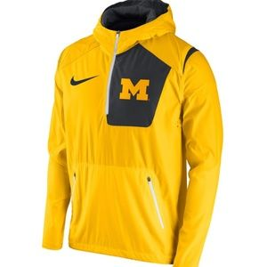 Nike Michigan Half Zip Pullover